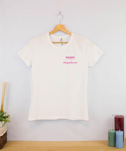 Camiseta clásica BIO cuello redondo Mujer (1)