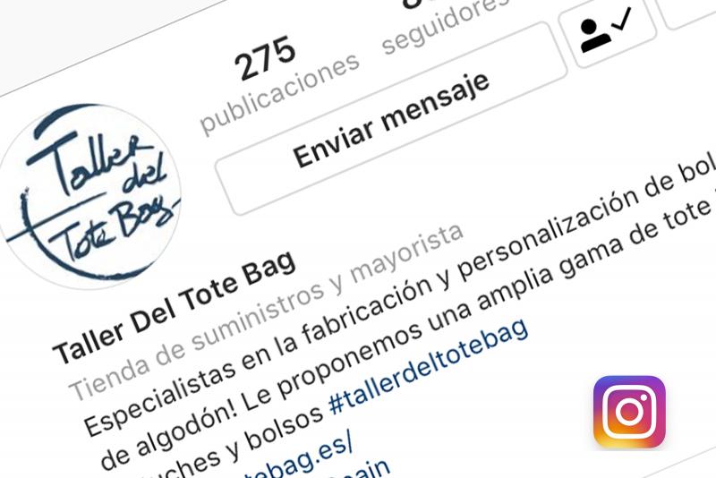 imagen instagram del tallerdeltotebag