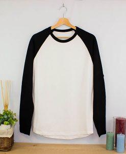 Camiseta Bicolor cuello redondo ML (4)