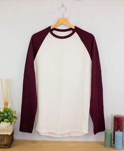 Camiseta Bicolor cuello redondo ML (5)