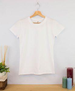 Camiseta Superior cuello redondo Mujer (2)