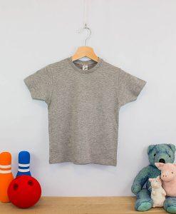 Camiseta clásica cuello redondo niño (2)